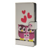 MOONCASE Owl style Leather Wallet Flip Card Slot Stand Pouch чехол для Huawei Ascend P8 lite A15 fotga hands free shoulder support mount pad video stabilizer for camcorder dv dslr camera light