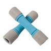 Mickey фитнес-оборудование домашние спортивные мужские маленькие гантели тонкая рука женские спортивные товары гантели костюм кг тренировка рука мышца MK2015-2KG * 2 синий серый