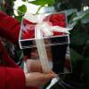 Зеркало Акриловые цветы Box Зеркало случае Святой подарок Новый год Рождество День Святого Валентина подарок Отправить подругу без цветов старый новый год с денисом мацуевым