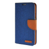 MOONCASE Galaxy S5 , Leather Flip Wallet Card Holder Pouch Stand Back ЧЕХОЛ ДЛЯ Samsung Galaxy S5 Dark blue promate akton s5 чехол накладка для samsung galaxy s5 black