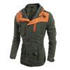 Zogga новые осенние и зимние мужские куртки, неформальная роскошь в масках зимние куртки цены в москве