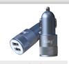 Автомобильное зарядное устройство Ainy EB-018K с 2-мя USB (1A/2.4A) серое автомобильное зарядное устройство ainy eb 018k с 2 мя usb 1a 2 4a серое