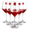 Лорна (РОНА) высокий бокал красного вина бокал красного вина с бокалом вина вина Подарочный набор 6 установлен (520ml * 6) книга вина