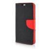 MOONCASE Cross pattern Leather Side Flip Wallet Card Slot Pouch Stand Shell Back ЧЕХОЛДЛЯ Samsung Galaxy A7 Black red mooncase galaxy note a7 leather flip wallet card holder pouch stand back чехол для samsung galaxy a7 red
