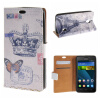 MOONCASE Huawei Ascend Y635 ЧЕХОЛ ДЛЯ Flip Wallet Card Slot Stand Leather Folio Pouch /a16 luxury stand flip