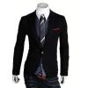 zogaa новых корейских мужской костюм стройный пальто