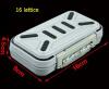 Многофункциональные водонепроницаемые принадлежности для рыбалки Хранение Box Инструмент Винты Аксессуары Box ABS Пластиковый ящик для хранения решетки аксессуары и принадлежности