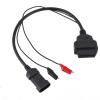 Супер полезно 3-контактный разъем для диагностики OBD OBD2 Инструмент автомобильный адаптер для Fiat купить адаптер для диагностики двигателя ваз