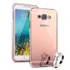MOONCASE металлический каркас тонких край зеркало 2 в 1 случае прикрытие для Samsung Galaxy E7 mooncase металлические рамки края зеркало защитную оболочку 2 в 1 случае распространяется на тонких samsung galaxy e5