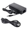 COOLM AC DC 24V 2A Power adapter Supply 48W Charger 5.5mm x 2.5mm + US / AU / EU / UK Cable Cord Высокое качество с новой микросхемой IC eu euro european ac power cable cord 3 prong mickey mouse clover plug