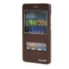 MOONCASE ЧЕХОЛ ДЛЯ Huawei Ascend P8 Lite View Window Leather Flip Bracket Back Cover wine huawei p8 lite