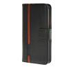 MOONCASE Senior Leather Flip Wallet Card Slot Bracket Back чехол для Cover Samsung Galaxy S6 Edge чёрный keymao luxury flip leather case for samsung galaxy s7 edge