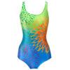 Climax (Yingfa) Climax Yingfa новый высококачественный цифровой печати треугольник купальный костюм Y1376-1 зеленый синий оранжевый M Y1376-1 смешанные цвета оранжевый, зеленый и синий цвета смешанные купальник climax 992