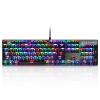 Motospeed CK104 RGB Игровая клавиатура Механическая клавиатура Черный клавиатура