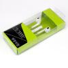 3,5 мм Наушники-вкладыши Upgrade стерео наушники со встроенным микрофоном и регулятором громкости Наушники Стерео гарнитура и шумоизоляции штекер уха наушники 3 5 power4 led