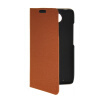 MOONCASE Slim Leather Side Flip Wallet Card Slot Pouch Stand Shell Back ЧЕХОЛДЛЯ Motorola Moto Droid Turbo XT1254 Brown kinston i love you patterned pu leather full body case w stand for motorola moto g black red