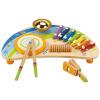 Германия Hape Детский музыкальный инструмент E0305 Десткий ксилофон для раннего образования детский музыкальный инструмент умка волшебный микрофон b1082812 r6 252751