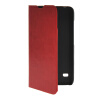 MOONCASE Slim Leather Side Flip Wallet Card Slot Pouch with Kickstand Shell Back чехол для Huawei Ascend Y550 Red mooncase чехол для huawei ascend p8 wallet card slot with kickstand flip leather back white