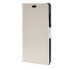 MOONCASE Leather Wallet Card Slot Bracket Back чехол для BlackBerry Leap White blackberry leap