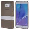 MOONCASE Samsung Galaxy Note 5 ЧЕХОЛДЛЯ Soft Silicone Gel TPU Skin With Bracket Protective Grey 01 чехол для samsung galaxy note 5 n920 samsung glossycover золотистый