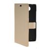 MOONCASE Slim Leather Side Flip Wallet Card Slot Pouch Stand Shell Back ЧЕХОЛДЛЯ Motorola Moto Droid Turbo XT1254 Beige