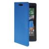 MOONCASE Slim Leather Flip Wallet Card Pouch with Kickstand Shell Back ЧЕХОЛДЛЯ HTC Desire 610 Blue синий slim robot armor kickstand ударопрочный жесткий корпус из прочной резины для vivo x9plus