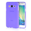 MOONCASE Transparent Soft Flexible Silicone Gel TPU Skin Shell Back ЧЕХОЛ ДЛЯ Samsung Galaxy A3 Purple for ipad mini4 cover high quality soft tpu rubber back case for ipad mini 4 silicone back cover semi transparent case shell skin