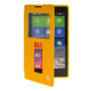 MOONCASE View Window Leather Side Flip Pouch Stand Shell Back ЧЕХОЛ ДЛЯ Nokia XL Yellow mooncase view window leather side flip pouch stand shell back чехол для nokia xl yellow