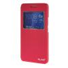 MOONCASE ЧЕХОЛ ДЛЯ Huawei Honor 6 Plus Slim View Window Leather Flip Bracket Back Cover Hot pink чехол для сотового телефона honor 5x smart cover grey