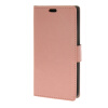 MOONCASE Smooth PU Leather Flip Wallet Card Slot Bracket Back чехол для Samsung Galaxy J5 Pink
