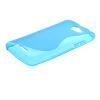 MOONCASE S-Line Soft Flexible Silicone Gel TPU Skin Shell Back чехол для HTC Desire 516 D516W Blue mooncase s line soft flexible silicone gel tpu skin shell back чехолдля htc one m9 blue