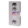 MOONCASE Слон стиль Кожа боковой паз флип Бумажник карты Стенд Чехол чехол для LG C90 / A15 mooncase зебра стиль кожа боковой паз флип бумажник карты стенд чехол чехол для microsoft lumia 640 xl a05