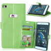 MOONCASE Чехол для Huawei Ascend P8 Фолио слот Флип кожаный бумажник карты и складной подставкой Feature Чехол Обложка
