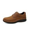 Мужская обувь Camel мужская обувь ручной работы повседневная обувь мужская толстая нижняя износостойкая обувь круглая обувь с обувью W532183050 почва желтая 39/245 ярдов мужская обувь