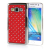 MOONCASE Hard Chrome Plated Star Bling Back ЧЕХОЛ ДЛЯ Samsung Galaxy A3 Red mooncase hard chrome plated star bling back чехол для huawei ascend y550 white