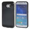 MOONCASE ЧЕХОЛДЛЯ Samsung Galaxy S6 Soft Silicone Gel TPU Skin With Card Holder Protective Black