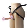 Медицинская TPR Ремешок на фаллоимитатор с эластичными ремнями переносной дилдо секс игрушка для женщин ABS Регулируемые Ремни дилдо секс товары Плоти секс подарок на день рождения аромат – пряный
