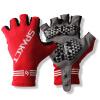 Sipa от (Spakct) S13G03 супер-эластичного характер короткого палец велоперчатки подходит красный L код