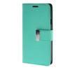 MOONCASE чехол для Samsung Galaxy E5 Flip Leather Wallet Card Slot Bracket Back Cover Green