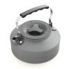mymei 1.1l портативный мини открытый пешие прогулки в поход выживания чайник чайник воды