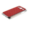 MOONCASE Luxury Chrome Plated Star Bling Back чехол для Samsung Galaxy Core Plus G3500 / Trend 3 G3502 Red mooncase hard chrome plated star bling back чехол для huawei honor 3c white