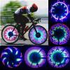 32 LED структуры Велоспорт велосипеды велосипеды Радуга колеса сигнал шины спиц велосипеды