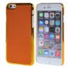 MOONCASE Litchi Skin золото Chrome Hard Back чехол для Cover Apple iPhone 6 (4.7) Orange mooncase litchi skin золото chrome hard back чехол для cover samsung galaxy s6 edge красный