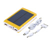 50000mAh Портативный Солнечное зарядное устройство Супер Dual USB Внешняя батарея банк питания зарядное устройство duracell cef14 аккумуляторы 2 х aa2500 mah 2 х aaa850 mah