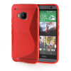 MOONCASE S - Line Soft Flexible Silicone Gel TPU Skin Shell Back ЧЕХОЛ ДЛЯ HTC One M9 Red костюм горничной soft line fifi черный s m