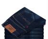 Мужчины Классический прямой Slim Fit руно Подкладка Толстые джинсы Байкер джинсовые брюки Пант футболка wearcraft premium slim fit printio шварц