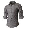zogaa новых людей рубашку темного стиль, мода мода цвет стиль