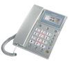 Нарды (bbk) HCD6101 стационарный телефон сидения фиксированной линии домашний офис ночь свет кнопка двойной интерфейс (стример серебристый) стационарный