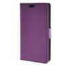 MOONCASE Litch Skin Leather Card Slot Wallet Bracket Back чехол для LG Joy H220 Purple mooncase litchi skin золото chrome hard back чехол для cover lg g4 золото