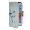 MOONCASE Pattern Style Leather Side Flip Wallet Card Slot Pouch Stand Shell Back ЧЕХОЛДЛЯ Samsung Galaxy S5 i9600 камуфляжный защитный чехол дляsamsung galaxy s5